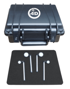 4D InSpec Fold Mirror Kit to measure surface defects in difficult to access areas