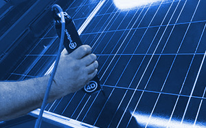 Measure solar panel roughness with 4D InSpec Surface Gauge