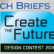 Tech Briefs Create the Future Contest Logo